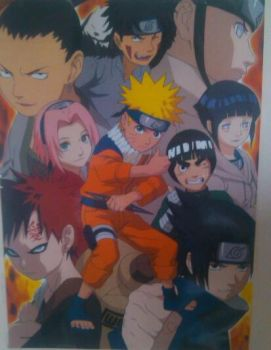naruto poster by Smile-mask