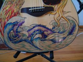 Four Elements Guitar - close up 3 by dragonlover-samantha