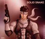 Solid Snake by Envavoid by metalgearsolid