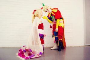 You're mine [Terra and Kefka (Final Fantasy VI)] by Rikkuneko-Chan