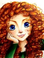 Merida by Kaspiian