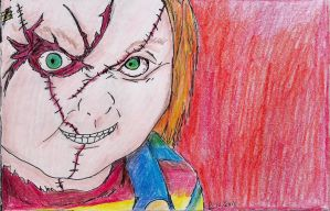 """Heavy Hitter: Charles """"Chucky"""" Lee Ray by hewhowalksdeath"""