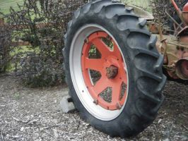 Tractor Tire by dananaboo