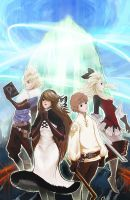 Bravely Default poster by Etherpendant