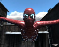 Spidergirl Jump by TargetView
