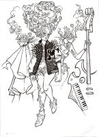 Alexander McQueen's Muse by DibuMadHatter