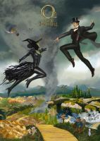Oz the Great and Powerful by kevinkosmo