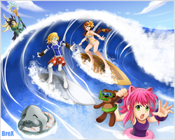 League of Legends Summer time! by Brex5