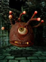 Beholder Hatching Evil Plan by Loneanimator