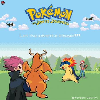 Johto Jourmeys - Get ready for a new adventure! by JordenTually