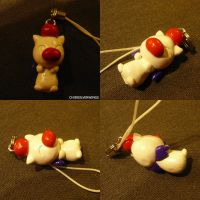 Moogle Charm by ChibiSilverWings