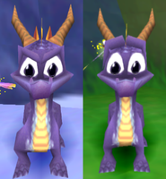 spyro - face comparison by Sabre471