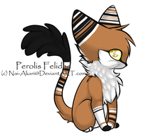 Chibi Perolis Felidae Adoptable - CLOSED by Kitsune-no-Suzu