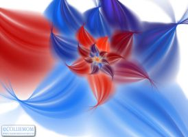 Patriotic Petals by Colliemom