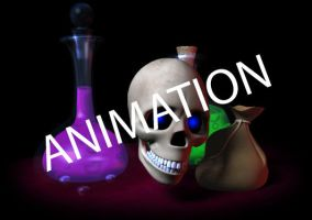 Skull animation by lisarts