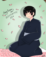 [APH] Happy Birthday Japan by THE-L0LLIP0P