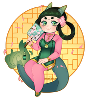 P || Jade Dragon by Mutealice