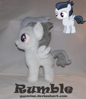 Commission : Rumble MLP by Gypmina