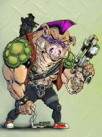 BeBop from TMNT by Gazbot