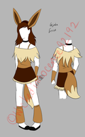 Gijinka Eevee Cosplay Design by Illogicat