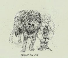 Protect the Cub by enginesummer