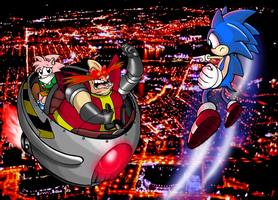 Sonic To The Rescue by ProfessorMegaman