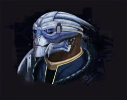 Turian Rebel by Subzero-Ryukami