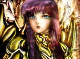 Saori Athena Saint Seiya by Vegetto by vegetto-vegito
