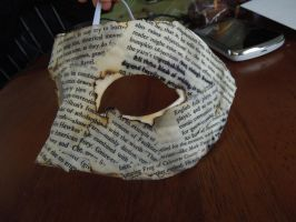 Burned Book Mask 4 by raena-nayrue