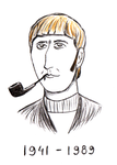 Graham Chapman by Goldyfox