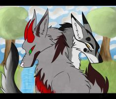 Sil, Tar and a river [Contest Entry] by LordStarsCreamy