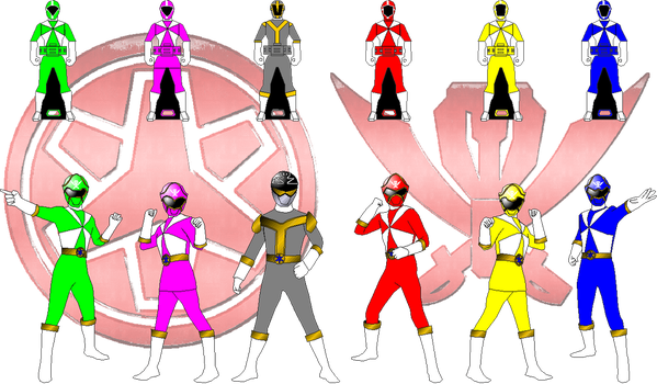 LRM Lightspeed Rescue for RedFalconRanger by rangeranime