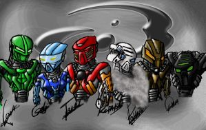 BIONICLE tribute by BioRockDude