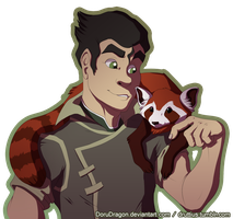 Bolin and Pabu by DoruDrutt