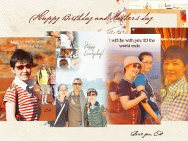 20120513 Happy birthday and mother's day by EliiisA0v0