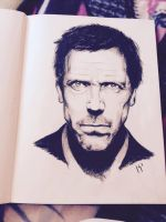 Dr. Gregory House by MatyldaSzytula