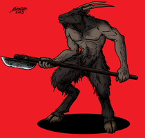 Uniox Goatman of Dbejor by Shabazik