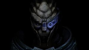 Garrus ME3 desktop wallpaper by efleck