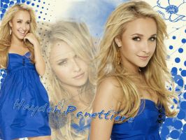 Hayden Panettiere blue dress by SophiaHana
