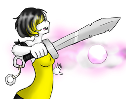 Watch Out Blind Girl With A Sword --MA Event-- by rayne-storme