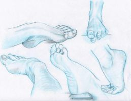 Feet practice by Sotalean