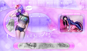Header Katy Perry by BelieveInMusic