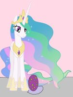 Princess Celestia and Spike's egg by Spartan545