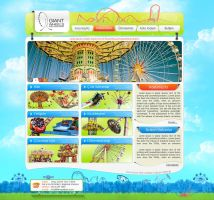 Amusement park Web Side by zoginet