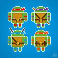 TMNDroids by Bamboota