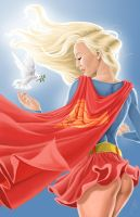 Supergirl by GraemeJackson