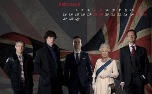 February 2012, SHERLOCK by k-avers