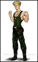 Guile - Street Fighter by takemina