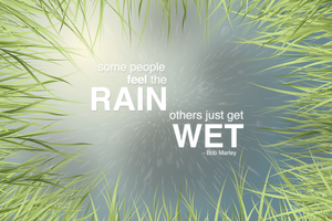 Feel The Rain by handslikeice