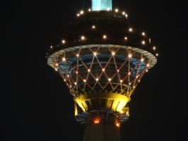 Milad Tower by aryanwicked